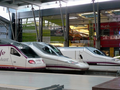 high-speed-trains-at-malaga-spain