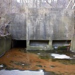 The Great Lakes Restoration Initiative won't fix sewer overflows problems like this one in Akron, Ohio.  Photo: City of Akron