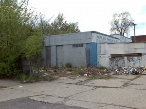 Abandoned gas station in Detroit, Michigan.  Photo: Michigan Department of Environmental Quality