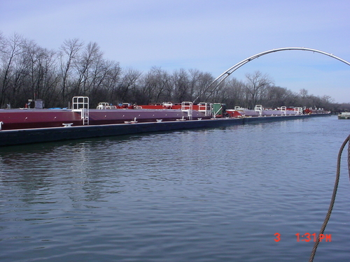 Electric fish barrier in Chicago. Source: U.S. Coast Guard