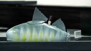 Michigan State University is developing a robotic sensor that swims like a fish. Photo: Michigan State University