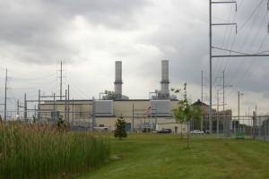 The Liberty Electric power plant in Pennsylvania, like many power plants throughout the region, does not monitor metals in its wastewater.  Photo by C. Bergesen.