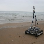This rover collects data in areas too shallow for boats and too dangerous for people. Photo: Tom Cons