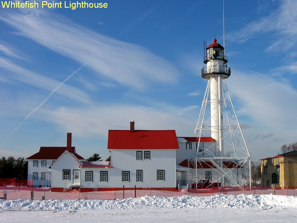 Grants spotlight lighthouse projects great lakes echo for White fish point