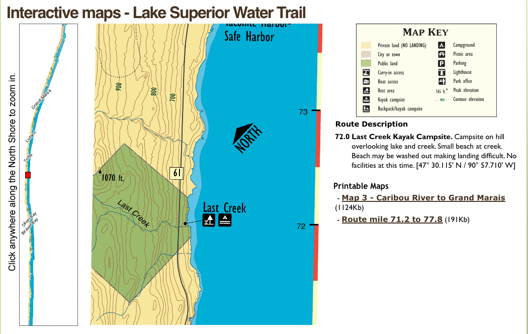 Mn Department Of Natural Resources Lake Maps