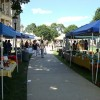 Lansing, Michigan holds a farmers market at the Capitol building.