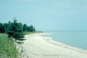 The shoreline of Lake Huron Photo: U.S. EPA