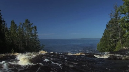 "A screenshot from the Great Lakes Protection Fund's ""Leadership in Action"" video."