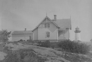 Built in 1847 and rebuilt in 1882, Crossover Island Light remains one of the oldest lighthouses on the St. Lawrence River, according to the Watertown Daily Times. U.S. Coast Guard photo.