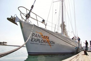 The Sea Dragon, pictured here, will sail from Cape Cod to Halifax. Photo: Pangaea Exploration.