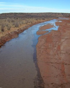 Red River at crossing of Texas State Highway 207. Photo: Wikamedia commons.
