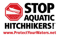 The Stop Aquatic Hitchhikers! Logo. Photo: Minnesota Sea Grant.