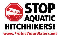 The Stop Aquatic Hitchhikers! Logo. Photo: Minnesota Sea Grant.