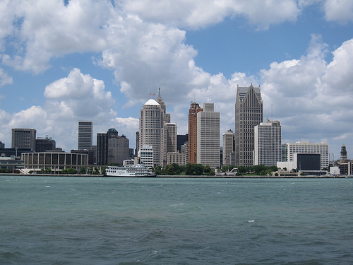 Detroit is one of the several Michigan cities trying to prepare for the effects of climate change. Photo: Flickr/CC.