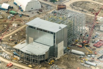 The energy-from-waste facility is set to be up and running by 2016. Photo: Region of Durham Ontario.