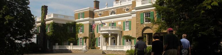 President Franklin Delano Roosevelt's Springwood. Image: National Park Service