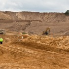 Frac sand mine in Wisconsin. Image: WisconsinWatch.org.