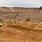 Frac sand mine in Wisconsin. Image: WisconsinWatch.org.