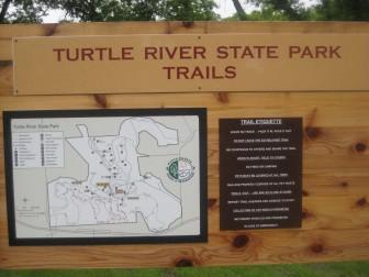 CCC memorial plaque at Turtle River State Park. Image: Eric Freedman