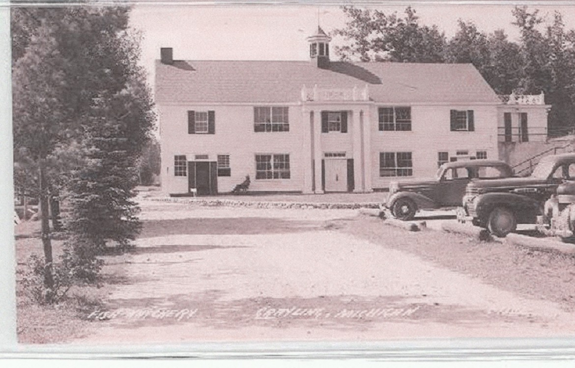 A historical image of the Grayling hatchery building. Image: Dan Vogler.