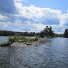 Deer Lake, facing west in the south basin. Photo: Stephanie Swar