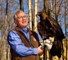 Ed Clark. Image: Wildlife Center of Virginia