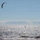 Kiteboarding in Natashquan, Quebec, Canada. Image: Simon Pierre Barrette