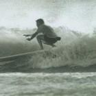Bob Beaton, surfing at Grand Haven in 1967. Image: http://www.sandhillcity.com/