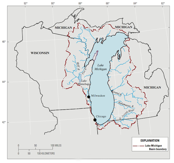 Lake Michigan Basin (USGS)