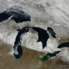 Michigan's mitt, Jan. 19, 2015. Image: NASA Goddard Space Flight Center / Creative Commons / Via Flickr: gsfc