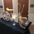 "Bike on display from ""Native Kids Ride Bikes"" Image: Rashad Muhammad"