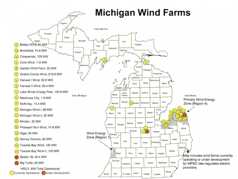 As Michigan Wind Farms Expand Protests Increase Great Lakes Echo
