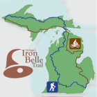 Proposed Iron Belle Trail Route, Image: Department of Natural Resources