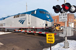 Michigan passenger train. Image: Michigan Department of Transportation
