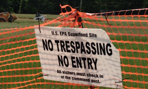 EPA superfund site, Brian Bienkowski