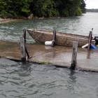 Heavy rains flood Lake Erie