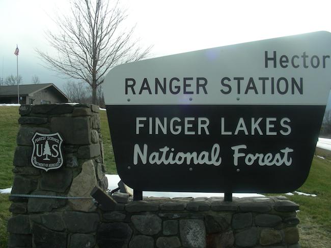 Ranger Station, Finger Lakes National Forest