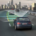Robot drivers that can automatically accelerate, brake and steer are under development. Image: Press photo, Bosch