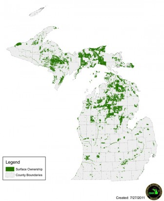Land cap not a problem for Michigan DNR | Great Lakes Echo