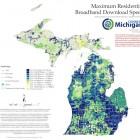Map: Maximum Residential Broadband Download Speed