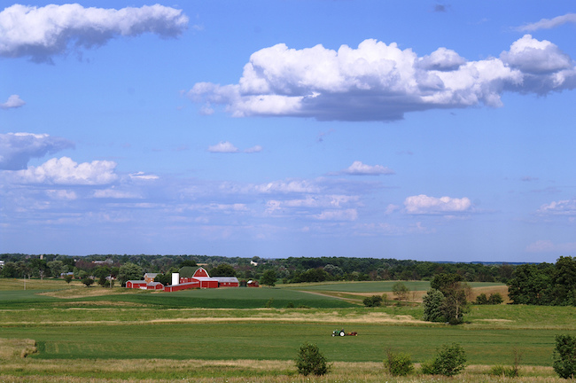 Michigan farm in Washtenaw Co.