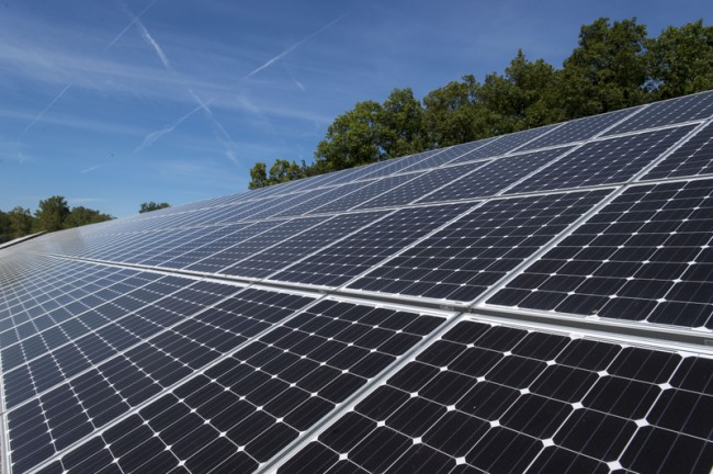 More farmers may lease land for solar projects in michigan for Solar panels houston
