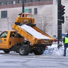 milwaukee salt truck winter road commission
