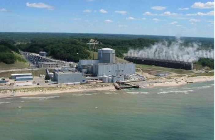 Palisade's Nuclear Plant in Covert, MI.
