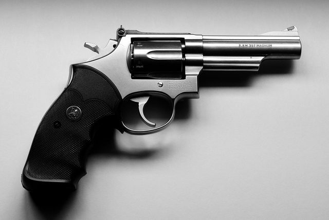 Smith & Wesson .357 Magnum. Image: Jim Sheaffer via Creative Commons