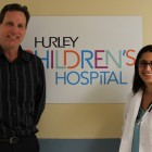 Russ White and Dr. Mona Hanna-Attisha.