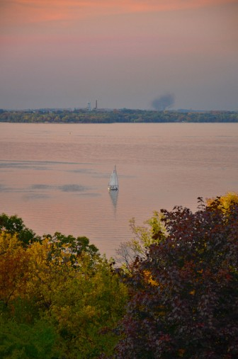 Lake Mendota. Image: Richard Hurd on flickr