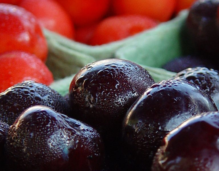Traverse City cherries will soon be on the shelves of food banks throughout the state. Image: David Jakes