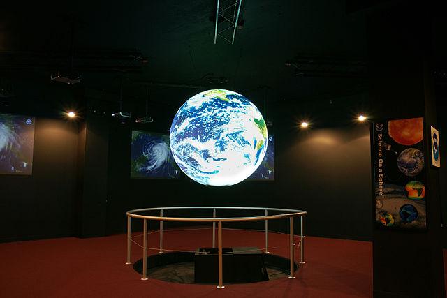 Science on a Sphere. Image: Byunghwan Lim