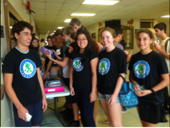 The Leamington Ecoteam hosts a school supply drive. Image: Lisa Jeffery